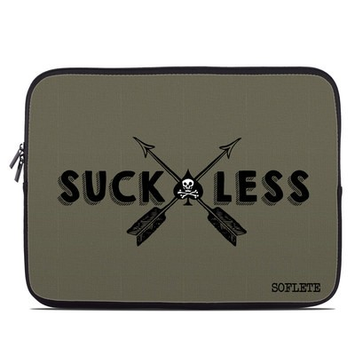 Laptop Sleeve - SOFLETE Suck Less Arrows Olive Drab