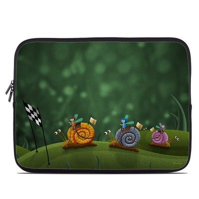 Laptop Sleeve - Snail Race
