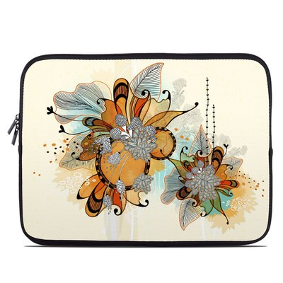 Laptop Sleeve - Sunset Flowers