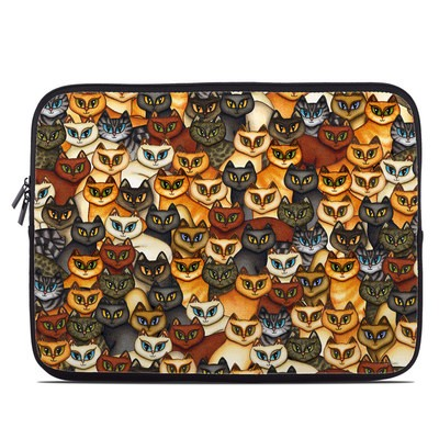 Laptop Sleeve - Stacked Cats