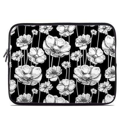 Laptop Sleeve - Striped Blooms