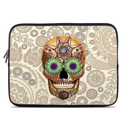 Laptop Sleeve - Sugar Skull Bone