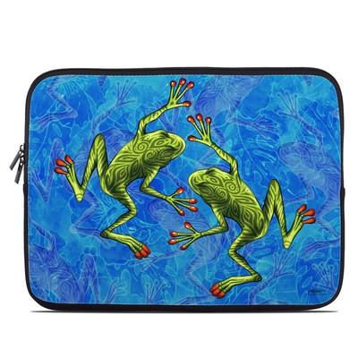 Laptop Sleeve - Tiger Frogs