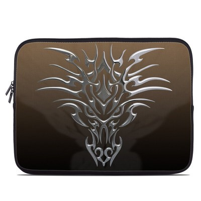 Laptop Sleeve - Tribal Dragon Chrome