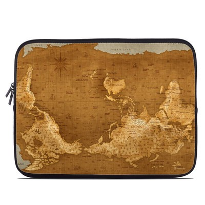 Laptop Sleeve - Upside Down Map