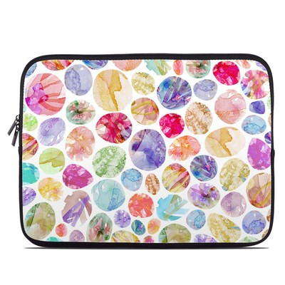 Laptop Sleeve - Watercolor Dots