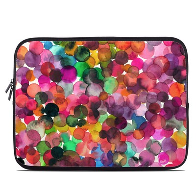 Laptop Sleeve - Watercolor Drops