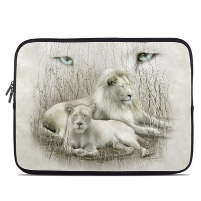 Laptop Sleeve - White Lion