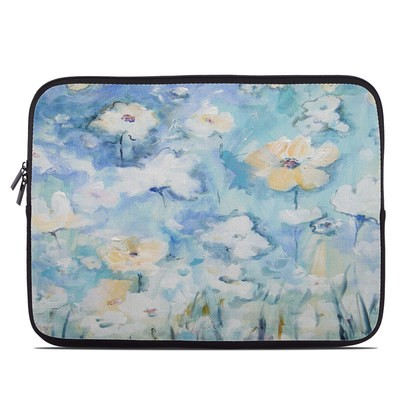 Laptop Sleeve - White & Blue