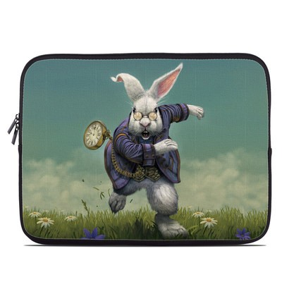 Laptop Sleeve - White Rabbit