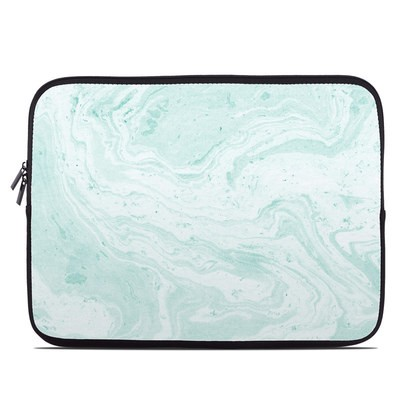 Laptop Sleeve - Winter Green Marble