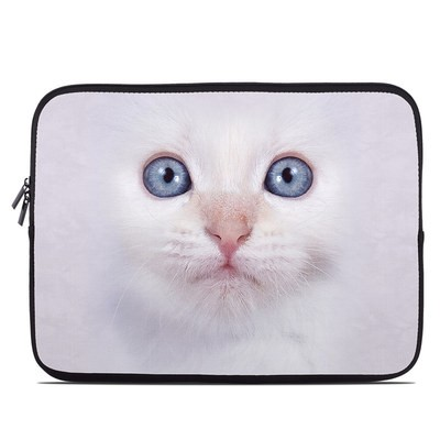 Laptop Sleeve - White Kitty