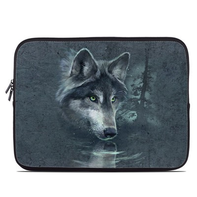 Laptop Sleeve - Wolf Reflection