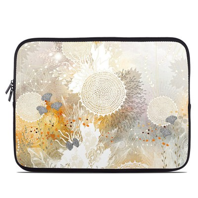 Laptop Sleeve - White Velvet