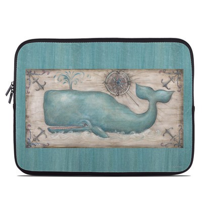 Laptop Sleeve - Whale Watch