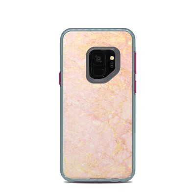 Lifeproof Galaxy S9 Slam Case Skin - Rose Gold Marble