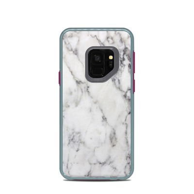 Lifeproof Galaxy S9 Slam Case Skin - White Marble
