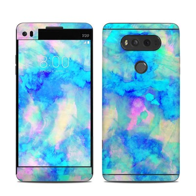 LG V20 Skin - Electrify Ice Blue