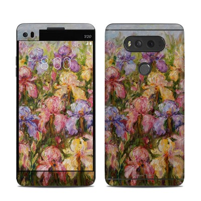 LG V20 Skin - Field Of Irises