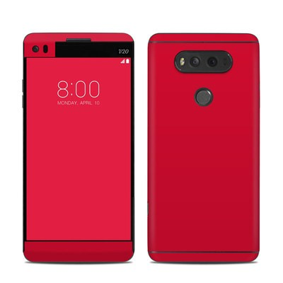 LG V20 Skin - Solid State Red