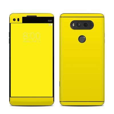 LG V20 Skin - Solid State Yellow