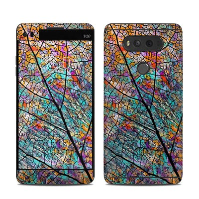 LG V20 Skin - Stained Aspen