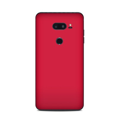 LG V35 ThinQ Skin - Solid State Red