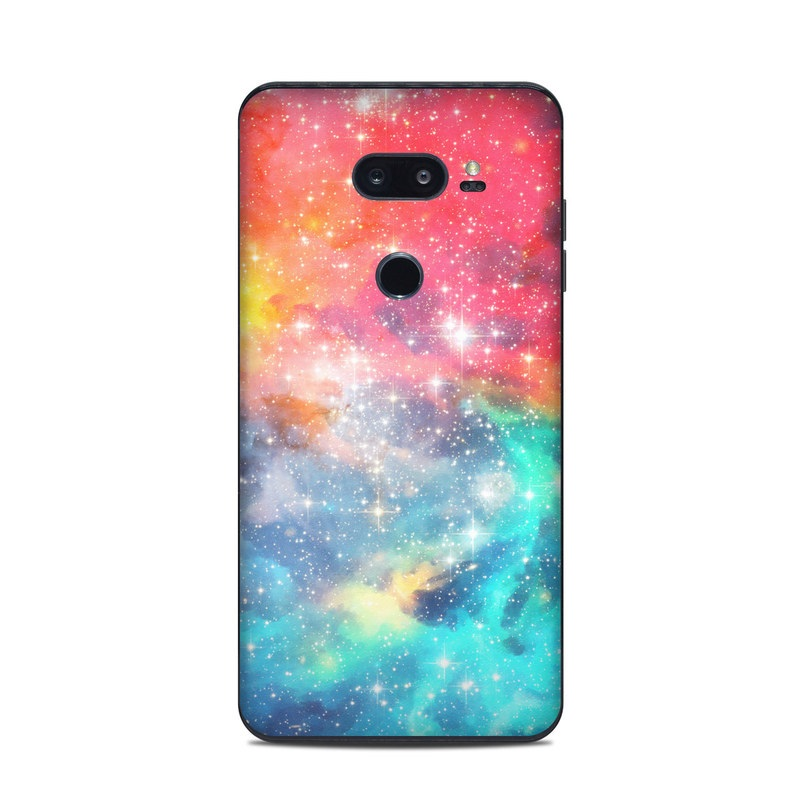 LG V35 ThinQ Skin - Galactic by DecalGirl Collective