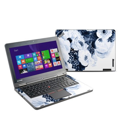 Lenovo Yoga Thinkpad 12 Skin - Blue Blooms