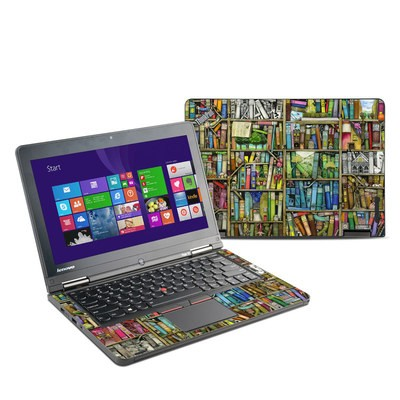 Lenovo Yoga Thinkpad 12 Skin - Bookshelf