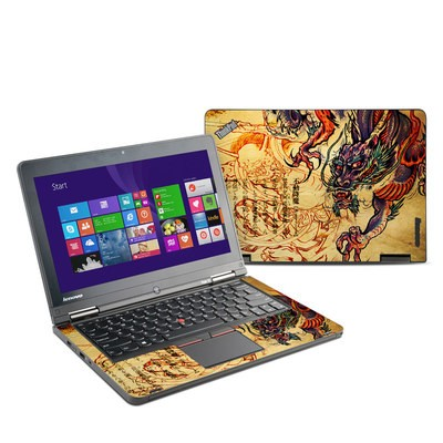 Lenovo Yoga Thinkpad 12 Skin - Dragon Legend