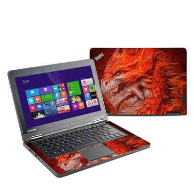 Lenovo Yoga Thinkpad 12 Skin - Flame Dragon