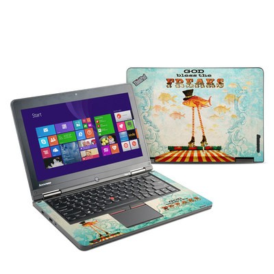 Lenovo Yoga Thinkpad 12 Skin - God Bless The Freaks