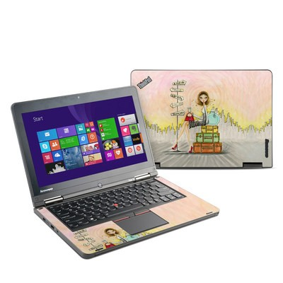 Lenovo Yoga Thinkpad 12 Skin - The Jet Setter