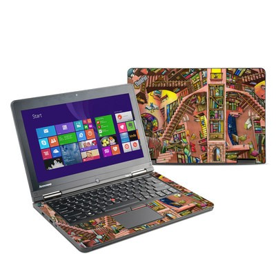 Lenovo Yoga Thinkpad 12 Skin - Library Magic