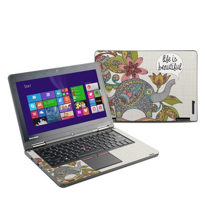 Lenovo Yoga Thinkpad 12 Skin - Life is Beautiful
