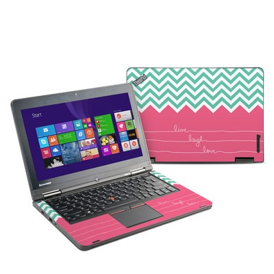 Lenovo Yoga Thinkpad 12 Skin - Live Laugh Love