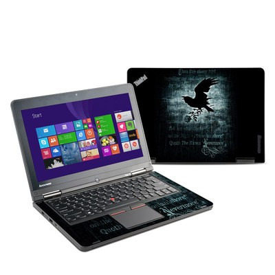 Lenovo Yoga Thinkpad 12 Skin - Nevermore