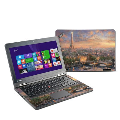 Lenovo Yoga Thinkpad 12 Skin - Paris City of Love