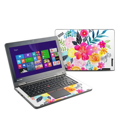Lenovo Yoga Thinkpad 12 Skin - Pink Bouquet