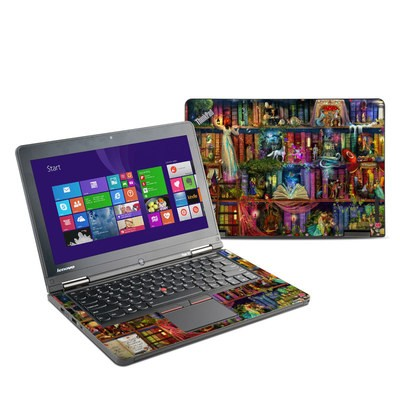 Lenovo Yoga Thinkpad 12 Skin - Treasure Hunt