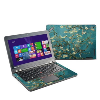 Lenovo Yoga Thinkpad 12 Skin - Blossoming Almond Tree