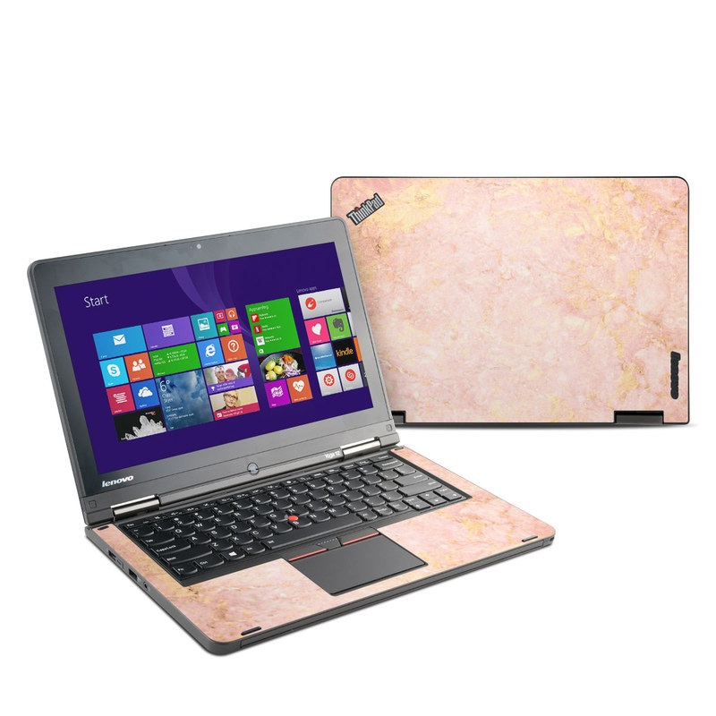 Lenovo Yoga Thinkpad 12 Skin Rose Gold Marble By Marble