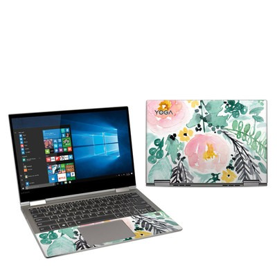 Lenovo Yoga 730 13in Skin - Blushed Flowers