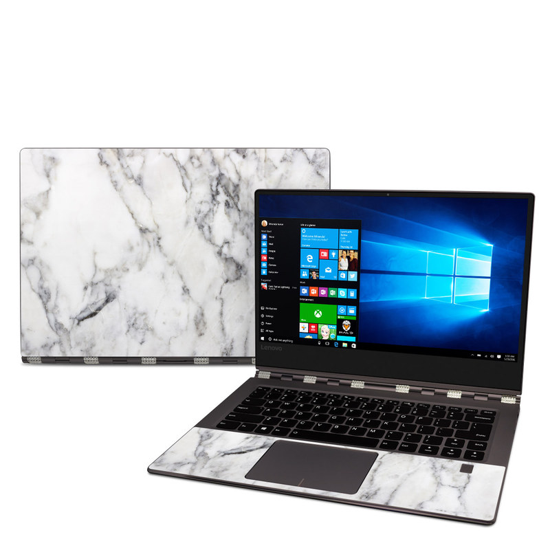 Lenovo Yoga 920 Skin White Marble By Marble Collection