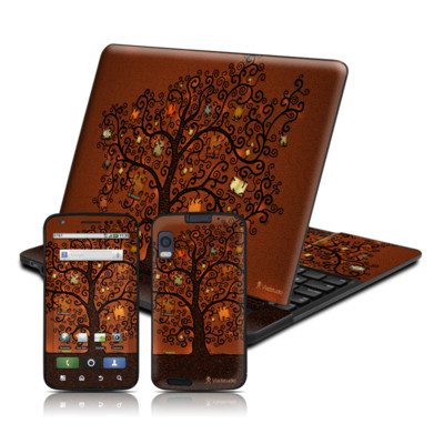 Motorola Atrix 4G Skin - Tree Of Books