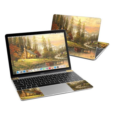 MacBook 12in Skin - A Peaceful Retreat