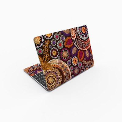 MacBook 12in Skin - Autumn Mehndi