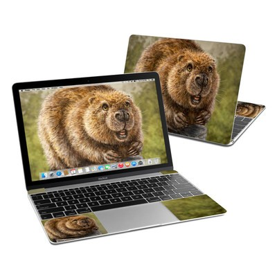 MacBook 12in Skin - Beaver Totem