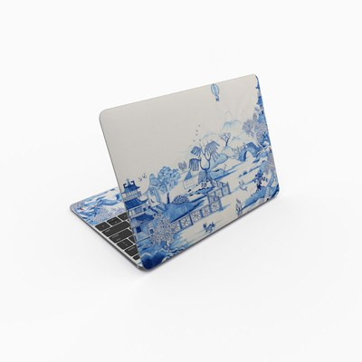 MacBook 12in Skin - Blue Willow